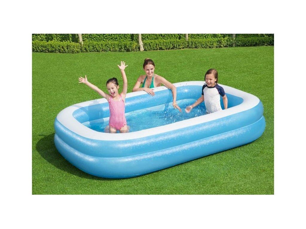 Bestway Nafukovací rodinný bazén HAPPY 54006 (3)