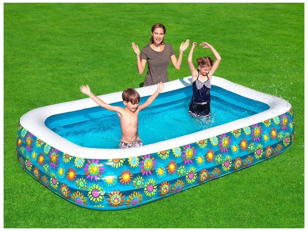 BESTWAY Rodinný nafukovací bazén SUN 54121 (5)