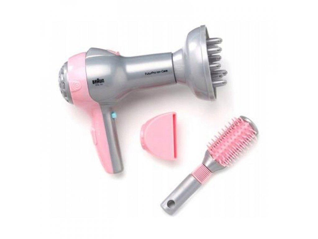 KLEIN Detský fén na vlasy BRAUN hračky pre dievčatá (1)