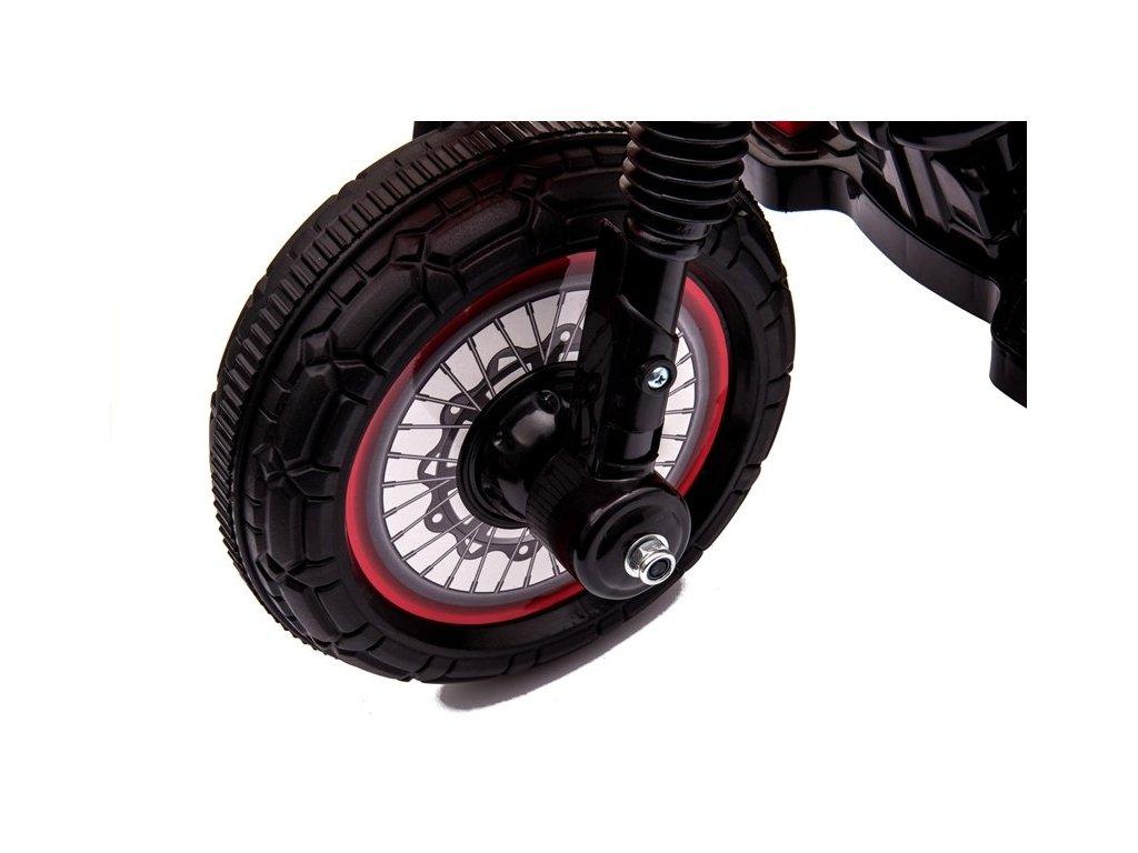 MP Elektrická motorka M4 červená, 20 W červená malypretekar 1