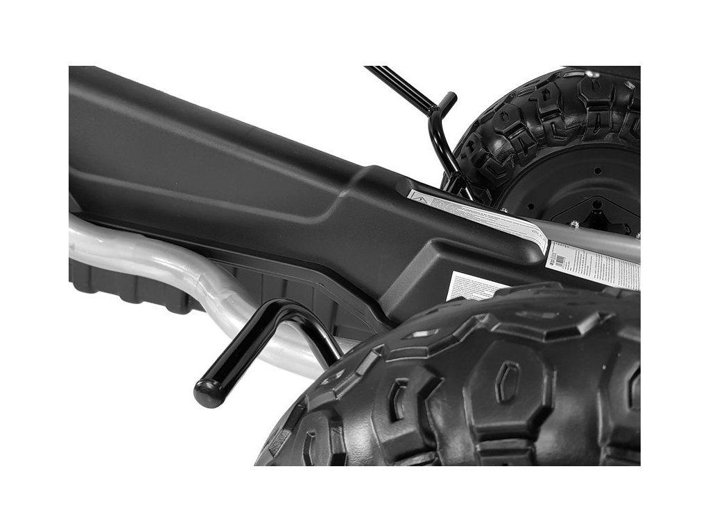 Šliapacia kára GOKART F5 penové kolesá EVA do 100 kg 03
