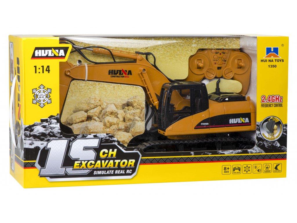 RC H Toys Pásový Bager 1550 1 14 malypretekar hracky orava liesek hrackaren rc modely vozidla na diaľkové ovládanie (10)