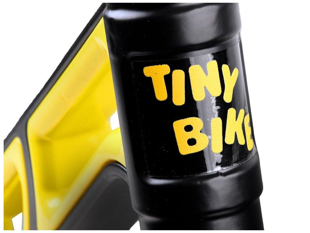 Tiny Bike Detské bežecké odrážadlo SPEED gumové nafukovacie kolesá odrážadlo s kovkovým rámom 01
