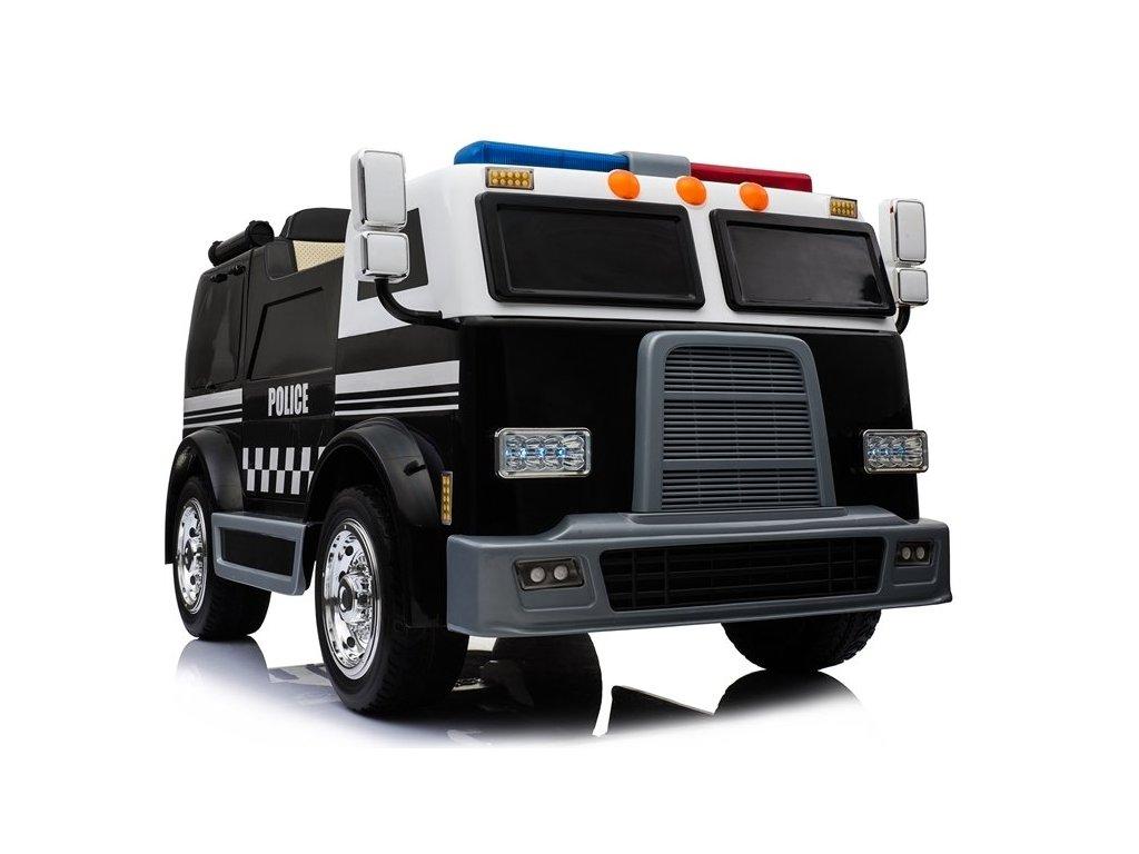 Elektrické policajné auto POLICE diaľkové ovládanie do 35 KG (12)