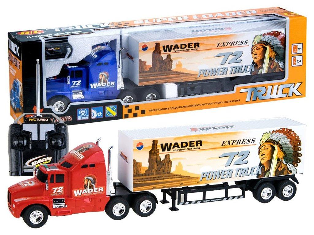 RC TIR Kamión WADER malypretekar diaľkové ovládanie pre chlapca pre dievča hracky hrackarstvo orava liesek (1)
