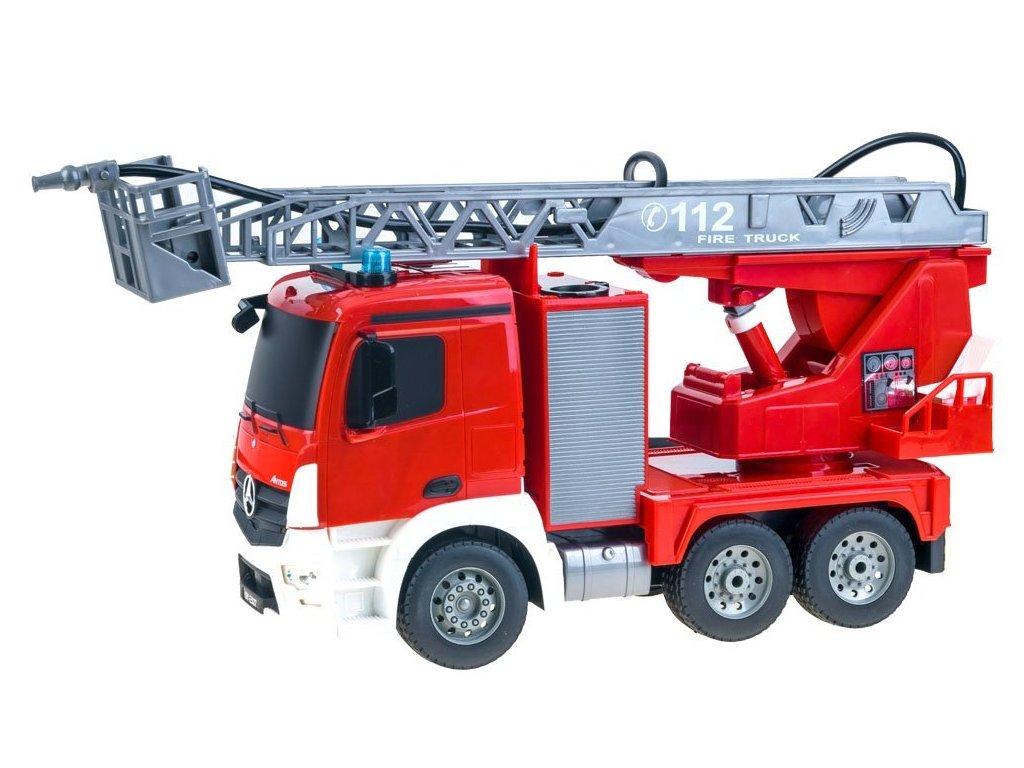 RC Double E Mercedes Benz Antos Fire Truck 120 malypretekar RC modely hracky hrackaren narodeniny darček dar liesek orava (7)