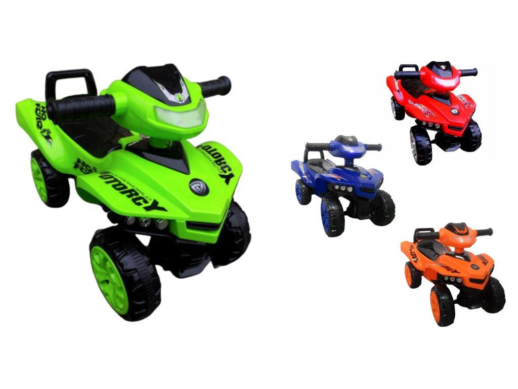 Detské odrážadlo Quad J5 malypretekar malý pretekár zelená červená oranžová modrá (1)02
