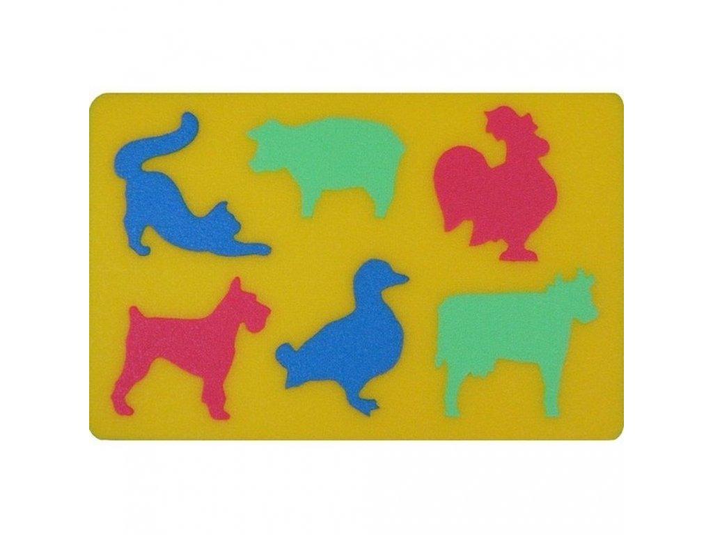 Penová tabuľka Domáce zvieratká malypretekar penové hračky penové stany penové puzzle