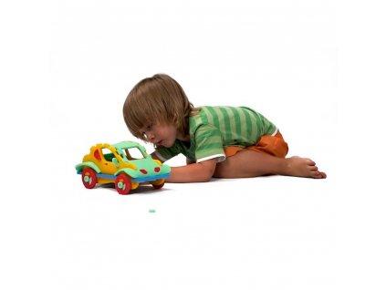 Penová stavebnica Autíčko 3D malypretekar liesek hracky didakticke hracky naucne hracky hlavolam 1
