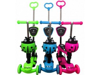 Kolobežka Scooter H3 3v1 malypretekar liesek pre deti športové potreby šport a oddych darček hrackaren hrackarstvo 001