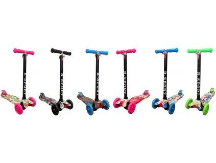 Kolobežka Balance H2 modrá ružová čierna zelená do 50 kg malypretekar liesek hračkarstvo hracky športové potreby kolobežka pre dieťa (2)