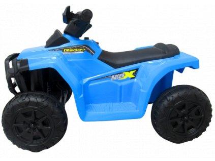 Elektrická motorka štvorkolka QUAD J8 MUA malypretekar liesek hračkarstvo modrá červená biela do 20 kg darček pre deti štvorkolka na batériu (3)