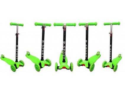 Detská kolobežka do 50 kg malypretekar svietiacce kolesá hrača hračkárstvo detské potreby (31)