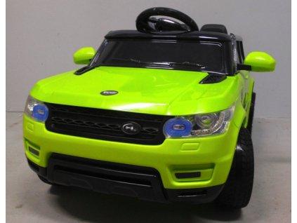 Elektrické auto BIG F1 malypretekar. sk zelené auto pre deti