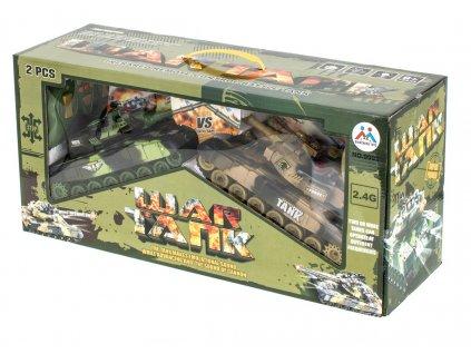 RC WAR TANK DOUBLE malypretekar liesek hračky hračkarstvo war tank sada tankov súboj medzi tankami (8)