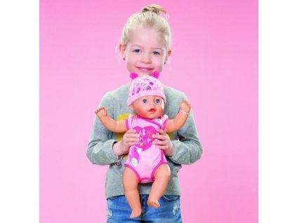 Interaktívna bábika Soft Touch 43 cm 9 funkcií BABY BORN ZAPF CREATION malypretekar ciká plače kaká možnos (7)
