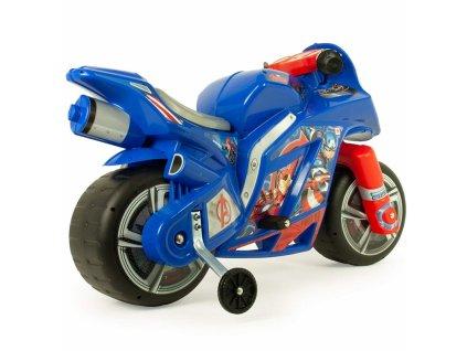 Injusa Elektrická motorka Avengers 6V malypretekar (4)