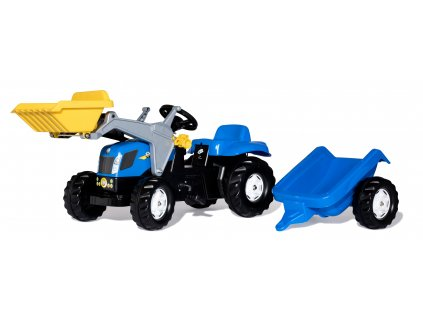 Rolly Toys rollyKid Traktor na pedále New Holland malypretekar šliapací traktor (4)