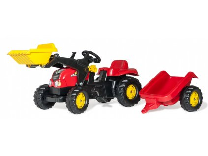 Rolly Toys rollyKid Traktor na pedále Kid X malypretekar šliapací traktor (1)