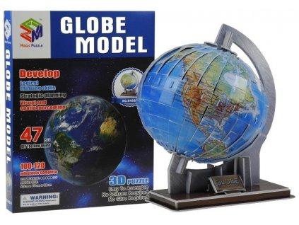 3D Puzzle Glóbus 47-Dielov