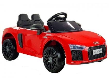 Audi R8 Spyder červené