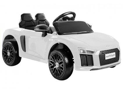 Audi R8 Spyder biele