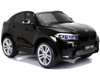 Elektrické auto BMW X6M Čierne Dvojmiestne