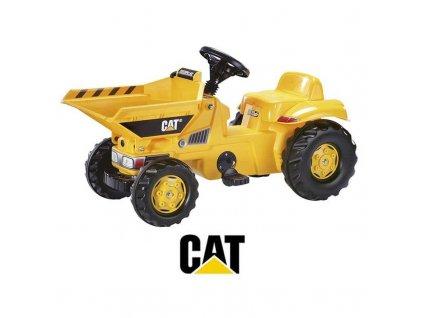 Rolly Toys rollyKid Traktor na pedále DUMPER CAT malypretekar caterpillar (3)
