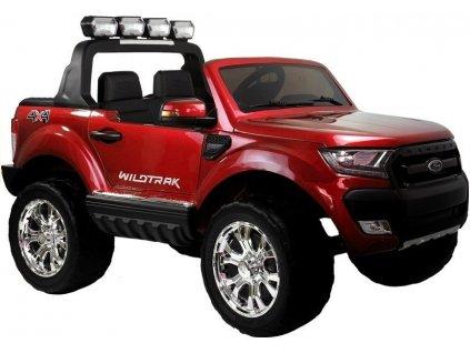 Elektrické auto Ford Ranger Wildtrak 4x4 Červený Lak