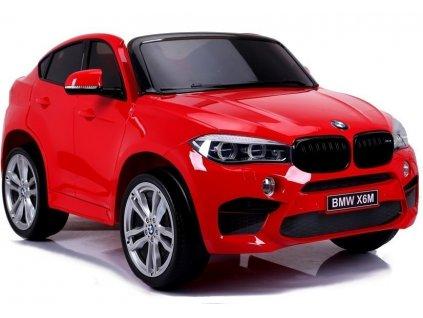 Elektrické auto BMW X6M Červené Dvojmiestne