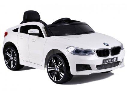 Elektrické auto BMW 6 GT biele
