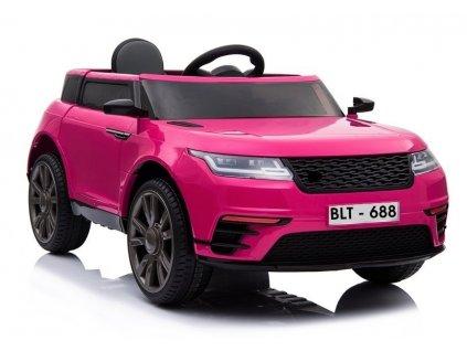Elektrické auto Rover BLT-688 ružové