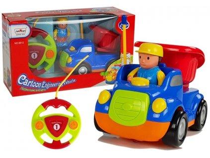 RC autíčko Cartoon s volantom - Nákladné auto