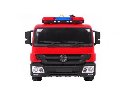 Hasičské elektrické auto s požiarnickou prilbou a doplnkami malypretekar požiarnicka prilba hasičský prístroj (4)
