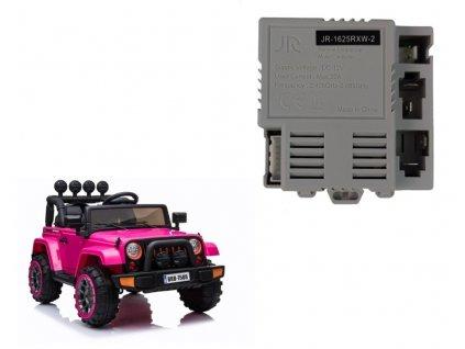 Centrálny modul JR-1625RXW-2 pre elektrické auto model BRD-7588