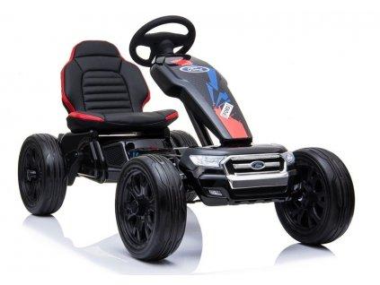 Ford Gokart Elektrická kára čierna