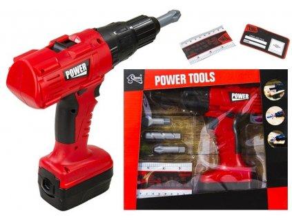 Vŕtačka pre domácich majstrov Power Tools