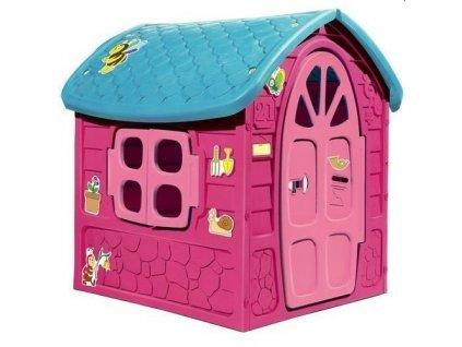 Záhradný domček Lenka - ružový