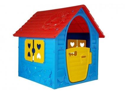 Záhradný domček Alex - modrý