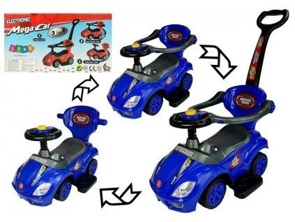 Odrážadlo Mega Car 3v1 - modré