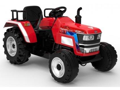 Elektrický traktor Mahindra 605DI-i Červený