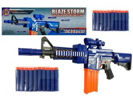 Blaze Storm puška na penové náboje Attack Rifle