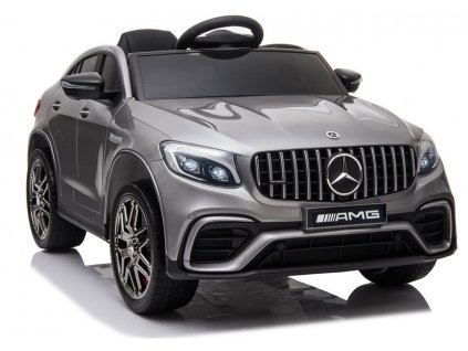 Elektrické auto Mercedes QLS-5688 4x4 - Strieborný Lak