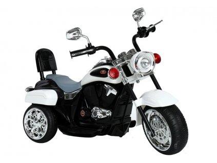 Elektrická motorka Chopper Night TR1501 - Biela