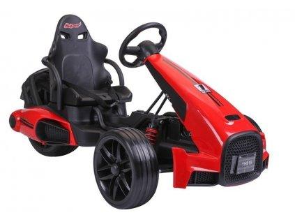 Elektrická kára Super Trike ST199 Červená