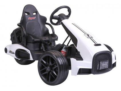 Elektrická kára Super Trike ST199 Biela