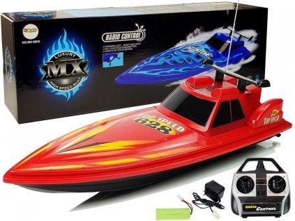 Veľký RC Motorový čln MX Top Speed 27 Mhz 78cm