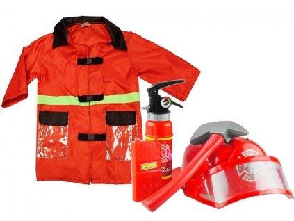 Oblečenie pre malého hasiča + príslušenstvo