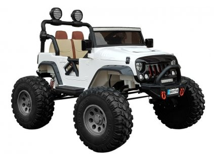 Elektrické auto Jeep SX1719 4x4 Biely