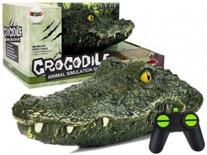 Diaľkovo ovládaná krokodília hlava 2,4 G